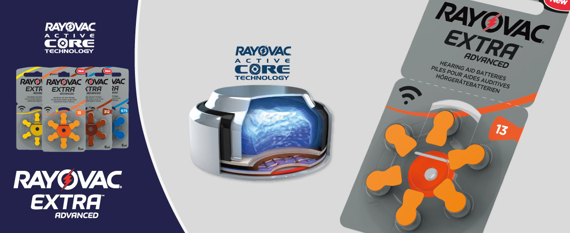 Rayovac extra advanced active core news